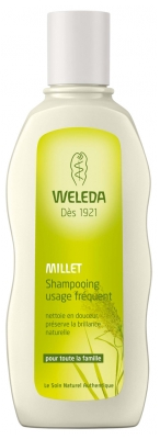 Weleda Shampoing Usage Fréquent au Millet 190 ml