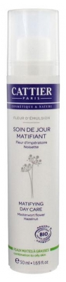Cattier Fleur d'Emulsion Soin de Jour Matifiant 50 ml