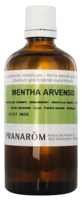 Pranarôm Essential Oil Field Mint (Mentha arvensis) 100 ml