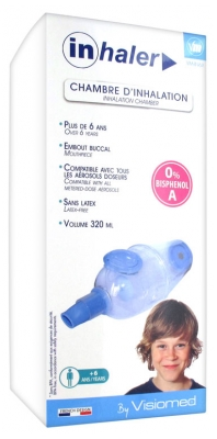 Visiomed Inhaler Inhalation Chamber 6 Years Old and +