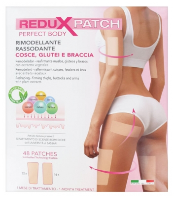 Incarose ReduxPatch Perfect Body Thighs Buttocks Arms 48 Patches