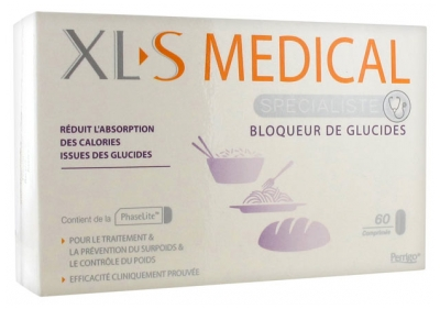 XLS Medical Carbohydrates Blocker 60 Tablets