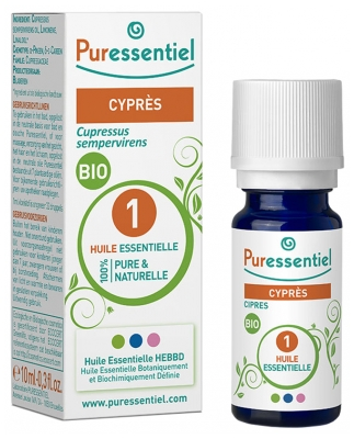 Puressentiel Essential Oil Cypress Bio 10ml