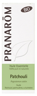 Pranarôm Bio Essential Oil Patchouli (Pogostemon cablin) 10 ml