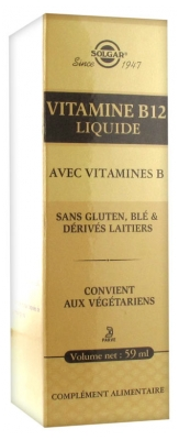 Solgar Vitamin B12 Liquid 59ml