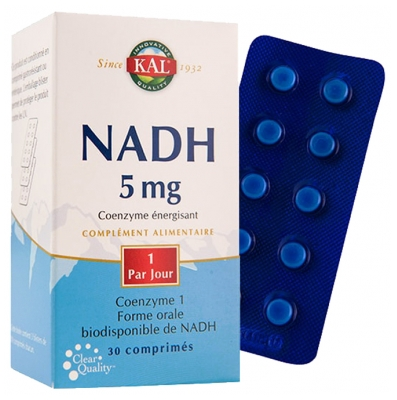 Kal NADH 5mg 30 Tablets