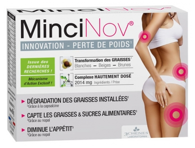 Les 3 Chênes MinciNov Innovation Weight Loss 60 Tablets