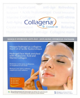 Collagena Masque Hydrogel Anti-Âge 5 Masques