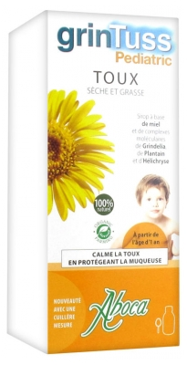 Aboca GrinTuss Pediatric Sirop Enfants 128 g