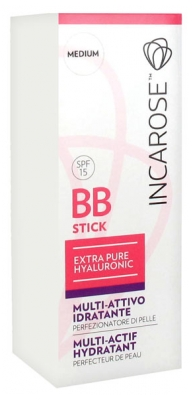 Incarose Extra Pure Hyaluronic BB Stick Multi-Actif Hydratant SPF 15 6 ml