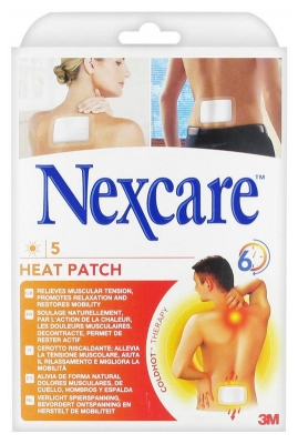 3M Nexcare 5 Heat Patches
