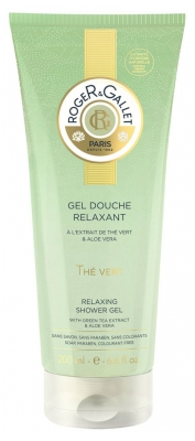 Roger & Gallet Relaxing Shower Gel Green Tea 200ml