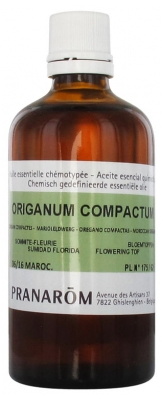 Pranarôm Essential Oil Oregano with Compact Inflorescences (Origanum compactum) 100 ml