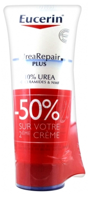 Eucerin UreaRepair PLUS Repair Foot Cream 10% Urea 2 x 100ml