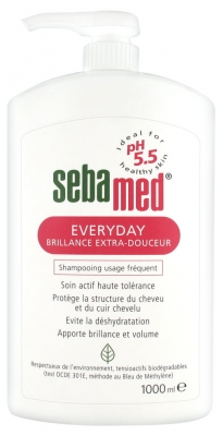 Sebamed Everyday Frequent Use Shampoo Extra-Softness Brilliance 1000ml