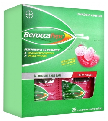BeroccaPeps 28 Orodispersible Tablets - Flavour: Red Fruits