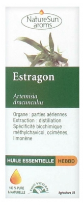 NatureSun Aroms Essential Oil Tarragon (Artemisia Dracunculus) 5ml