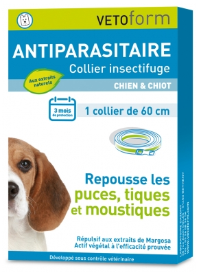 Vetoform Antiparasite Insect Repellent Collar Dog and Puppy