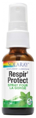 Solaray Respir' Protect Throat Spray 30ml