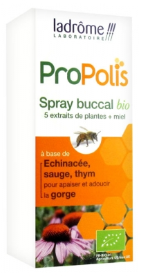 Ladrôme Propolis Spray Buccal Bio 30 ml