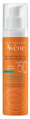 Avène Cleanance Solaire SPF 50+ 50 ml