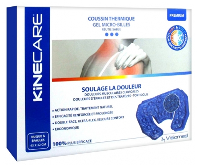 Visiomed Kinecare Coussin Thermique Nuque & Épaules 45 x 32 cm