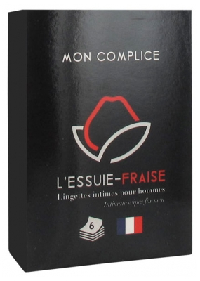 L'Essuie-Fraise Intimate Hygiene Wipes For Men 6 Wipes