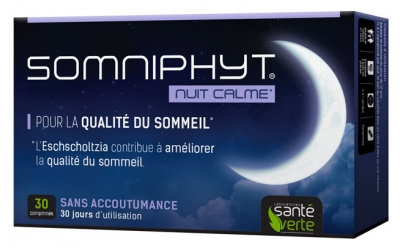 Santé Verte Somniphyt Calm Night 30 Tablets