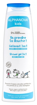 Alphanova Kids Shower Gel 3 in 1 250ml
