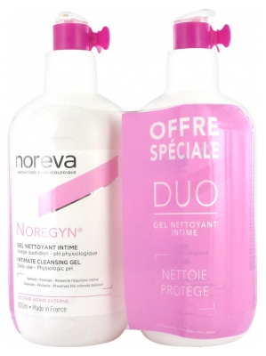 Noreva Noregyn Personal Hygiene Daily Cleansing Gel 2 x 500ml