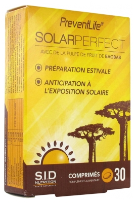 S.I.D Nutrition PreventLife SolarPerfect 30 Tablets