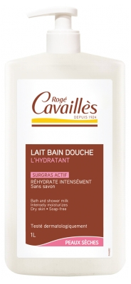 Rogé Cavaillès Moisturising Bath and Shower Milk Dry Skins 33% Free 1L