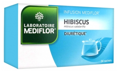 Médiflor Hibiscus Infusions 24 Sachets