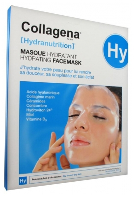 Collagena Hydranutrition Hydrating Facemask Dry to Very Dry Skin 5 Masks