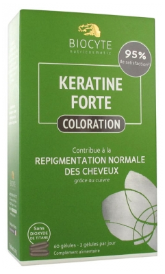 Biocyte Keratine Forte Colouring 60 Capsules
