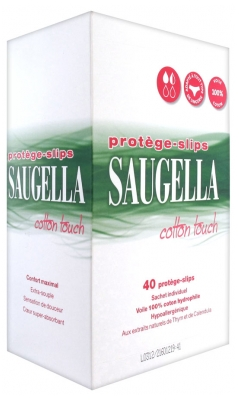 Saugella Cotton Touch 40 Panty Liners