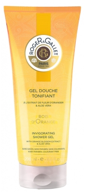 Roger & Gallet Gel Douche Tonifiant Bois d'Orange 200 ml