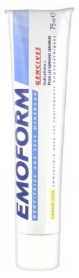 Emoform Dentifrice Gencives Arôme Anis 75 ml