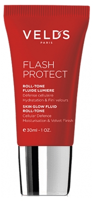 Veld's Flash Protect Roll-Tone Fluide Lumière 30 ml - Teinte : Nude Peau Claire