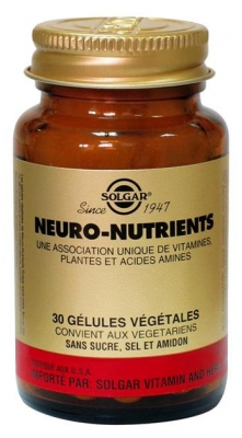 Solgar Neuro-Nutrients 30 Vegetable Capsules