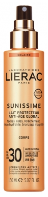 Lierac Sunissime Lait Protecteur Anti-Âge Global SPF 30 150 ml