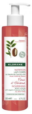 Klorane Hibiscus Flower Nourishing Body Lotion 200ml