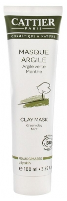 Cattier Green Clay Mask Oily Skin 100ml
