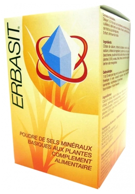 Biosana Erbasit Powder of Basic Mineral Salts of Plants 240g