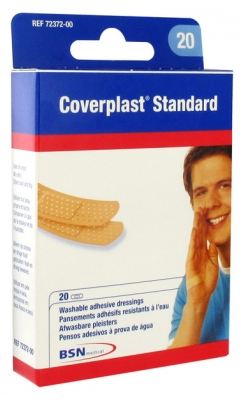 BSN medical Coverplast Standard 20 Pansements Adhésifs Résistants à L'Eau