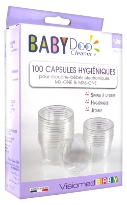 Visiomed BabyDoo Cleaner 100 Hygienic Disposable Caps for MX One