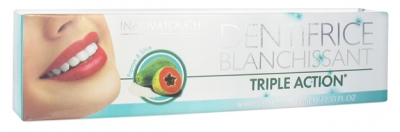 Innovatouch Dentifrice Blanchissant Triple Action Papaye & Silice 75 ml