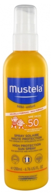 Mustela High Protection Sun Spray SPF 50 200ml