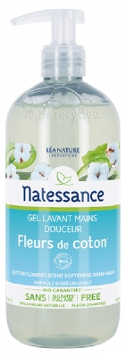 Natessance Cotton Flowers Scent Softening Hand Wash 500ml