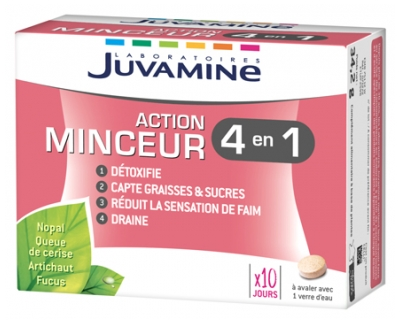 Juvamine Slimming Action 4in1 60 Tablets